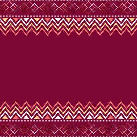 fabric pattern with motif geometric background, printing textile, clothing with beautiful color