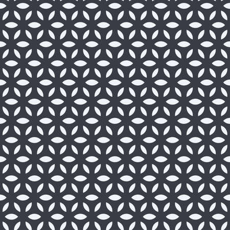 Abstract geometric seamless pattern with circles. Modern abstract design for paper, cover, fabric, interior decor 向量圖像