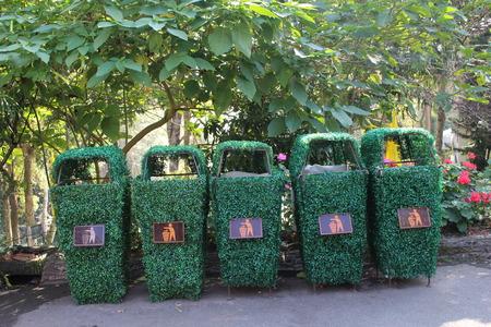bins: Bins in garden