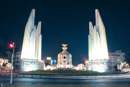 democracy Monument: The Democracy Monument at Bangkok Editorial