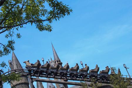 Roller Coaster with blue sky Stock fotó - 70516685