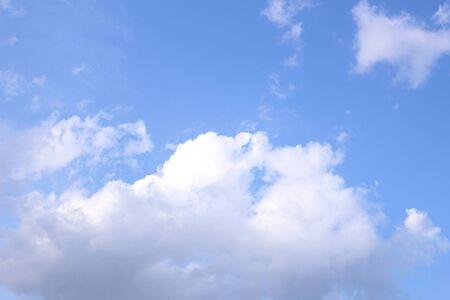 Blue sky with cloud Stock fotó
