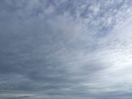Soft clouds with sky