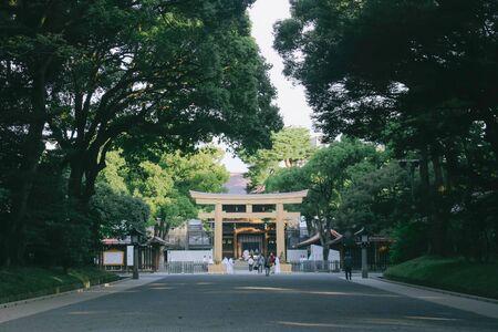 Path to Meiji-jingu shrine