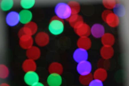 Colorful bokeh, background Stock fotó