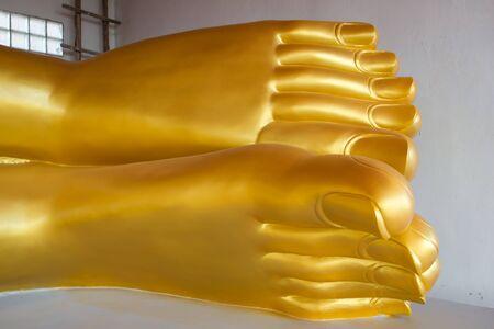 transcendent: His golden Buddha
