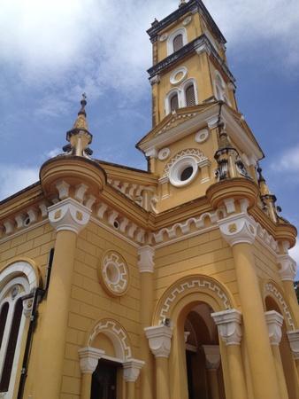 ayuttaya: St.Josephs Church Ayuttaya Thailand Stock Photo