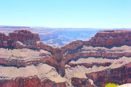 eagle canyon: Eagle point at Grand Canyon National Park Stock Photo