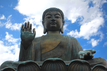 Big Buddha Statue Hong Kong photo