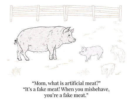 Pig and Piglet. Funny dialogue.