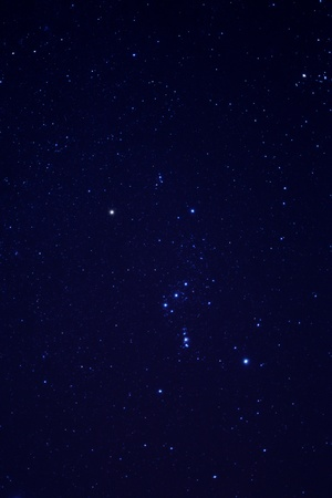 Many stars on the sky photo