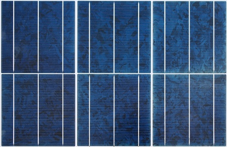 Patr�n de panel solar policristalino moderno Seamless photo