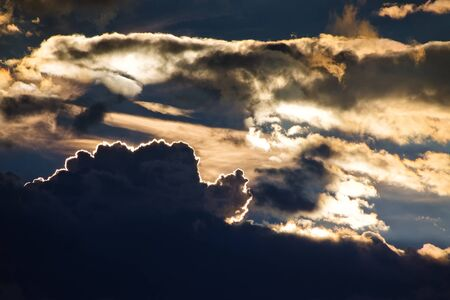 Cielo ardiente Dram�tico photo