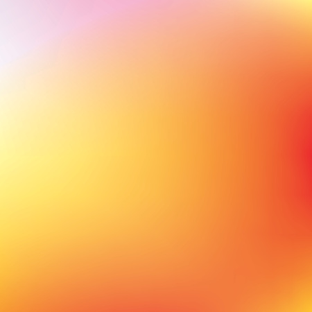 Abstract orange and yellow vector background, color mesh gradient, wallpaper for you project