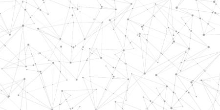 Molte linee e punti. Fondo astratto, carta da parati della geometria, progettazione di vettore Archivio Fotografico - 77169098