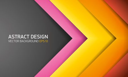 Abstract background, color strips, cover for project presentation, vector design. Illustration