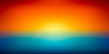 Abstract vector mesh background, color gradient, orange and blu, smooth sunset, vector wallpaper Illustration
