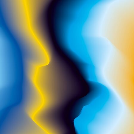 Abstract color waves background, blurry colorful gradient, smooth pattern for you presentation, vector design wallpaper