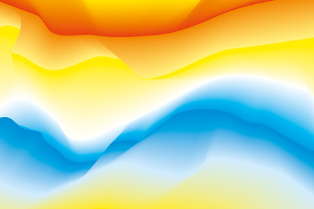 Abstract color waves background, blur colorful gradient, smooth pattern for you presentation, vector design wallpaper