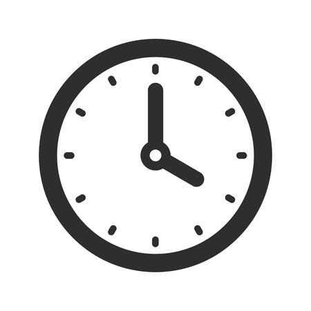 Clock icon. 矢量图像