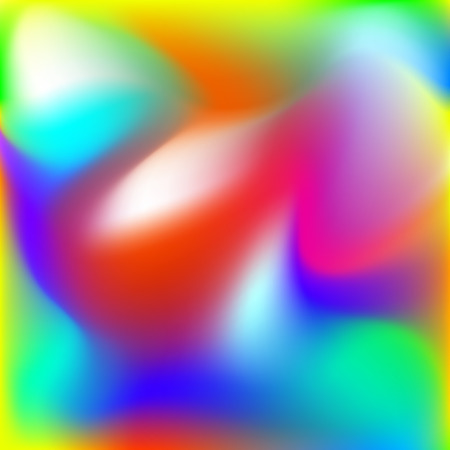Abstract twist background, blurred rainbow mesh gradient, smooth pattern for you presentation, vector design wallpaper