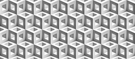 Realistic 3d vector cubes texture for you projects Ilustrace