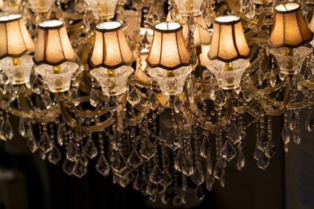 Some part of vintage chandelier
