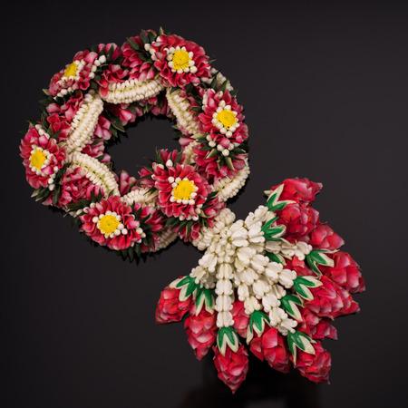 Fresh flower garlands