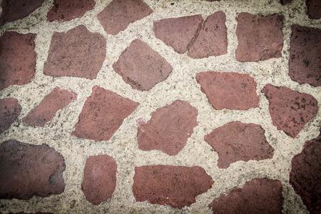 tiled: grunge tiled stones background texture Stock Photo