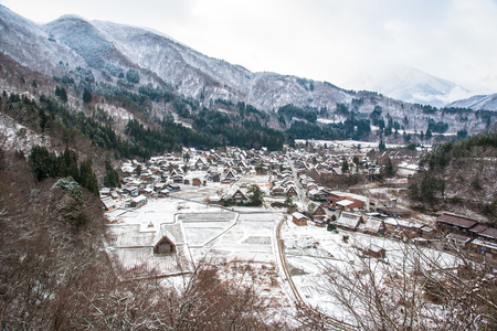 shirakawago: Shirakawa-go in Winter
