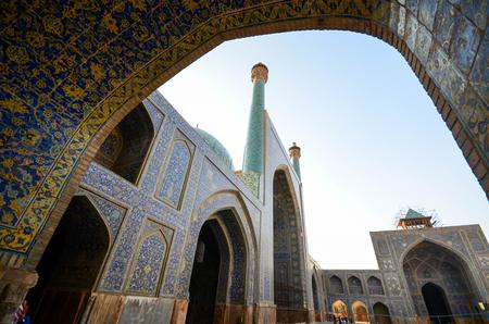 Beautiful Imam Mosque in Esfahan