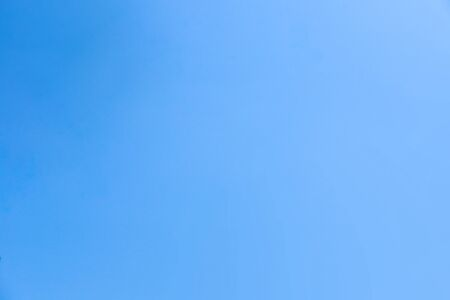 Clear Blue Sky Background Stock Photo