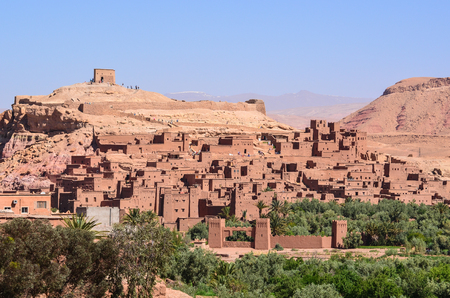 Fortified Ksar of Ait Benhaddou in Morocco