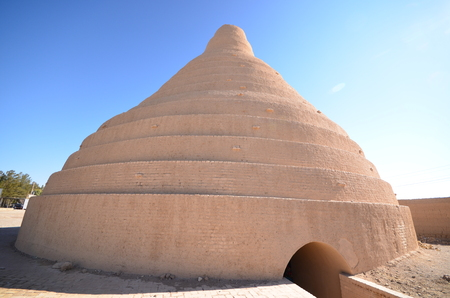 Ancient Abarkuh Icehouse in Iran