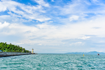 Picturesque View of Seascape in Pattaya