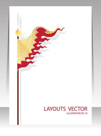 cover: Flag tradition cover vector