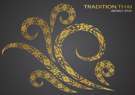 tradition: tree of thai tradition background