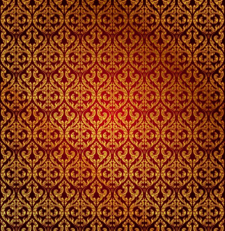 thai style: Traditional Thai style pattern vector