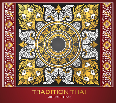 cover: abstract thai tradition cover