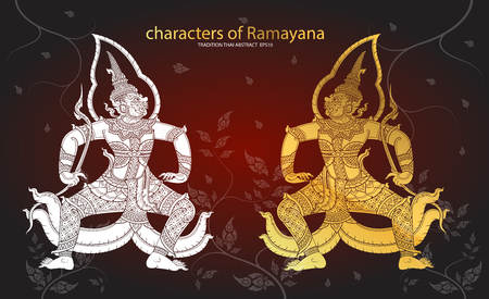 tradition: Thai tradition Giant characters of Ramayana