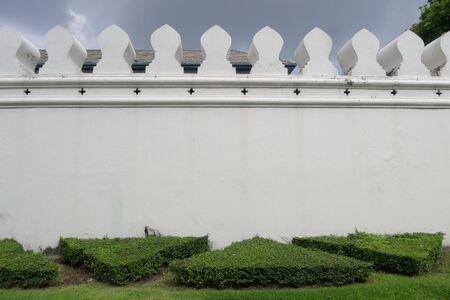 the grand palace: Grand palace wall