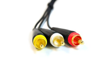 Audio visual cables photo