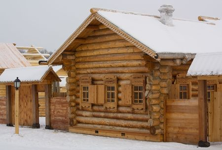 The wooden house Stock Photo - 6429625