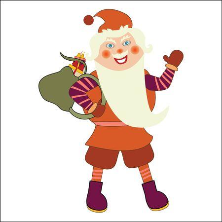 new yea: Santa Claus Illustration