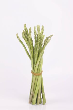Group of asparagus tie with rubber Stock fotó