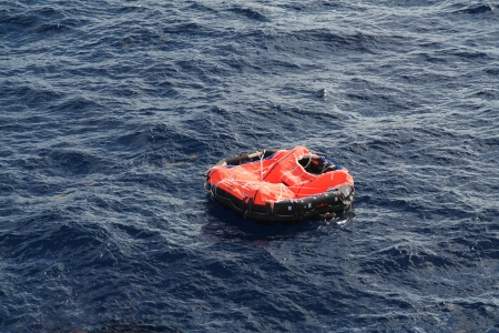 life protection: Life Raft