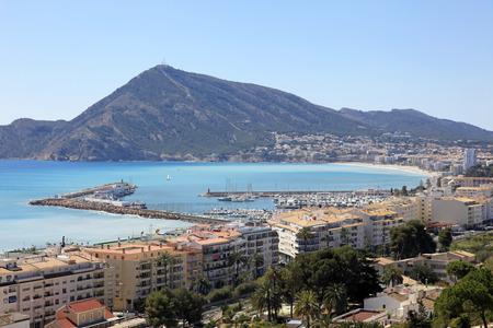 albir: Marina at Altea Costa Blanca Spain Stock Photo