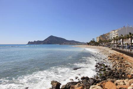 Beach on the Costa Blanca southern Spain photo