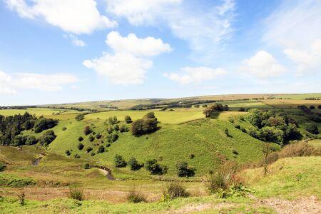 exmoor: Farmland Exmoor Devon England