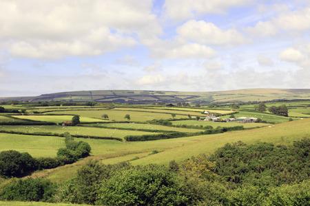 exmoor: Farmland Exmoor North Devon England